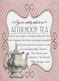 Bridal Afternoon Tea Package - Standard