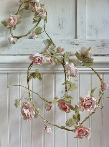 Rose Garland - Light Pink 173