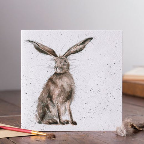 Greetings Card - Good Hare Day 11311