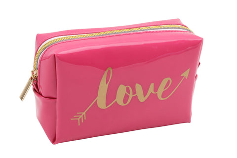 """Love' Make Up Bag in Pink 5591"