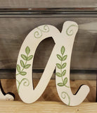 Personalised Wall Letters - Flowers 8567