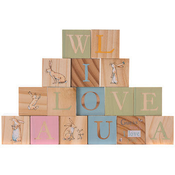 Guess How Much I Love You Wooden Picture Blocks 5056