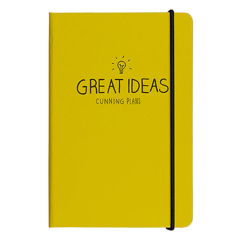 A5 Notebook - Great Ideas in Yellow 7798