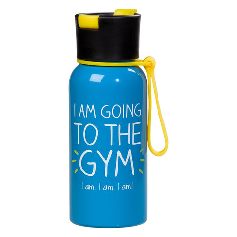 Water Bottle - I am Going to the Gym 7800
