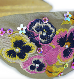 Powder Headband - Pansy in Stone 9771