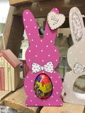 Bunny Block with Cadburys Egg - Fuchsia Pink 6087