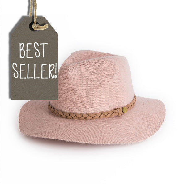 Powder Hat - Katie in Pale Pink 6777