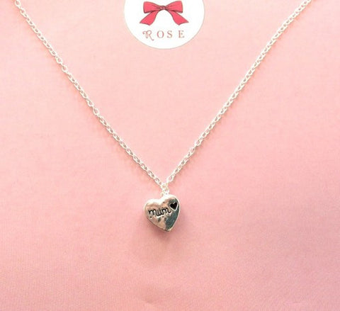 Mum Heart Necklace 5881