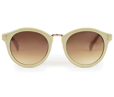 Powder Sunglasses - Megan in Olive / Stone 8595