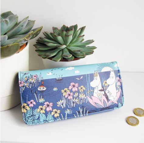 Disaster Moomin Wallet - Lotus 9412
