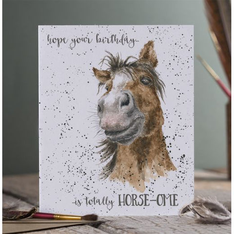 Greetings Card - Horse-ome 11315
