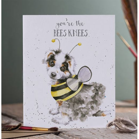 Greetings Card - Bees Knees 11007