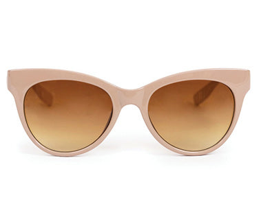 Powder Sunglasses - Pamela in Cream / Taupe 8598