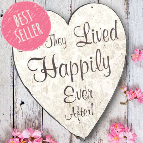 Happily Ever After Hanging Heart 1194