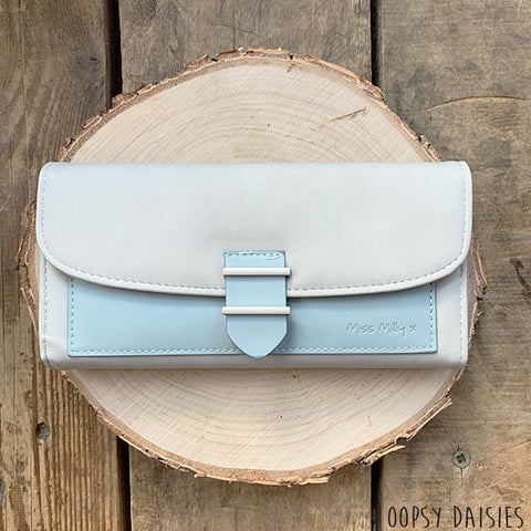 Miss Milly Purse - Blue Panel 10878