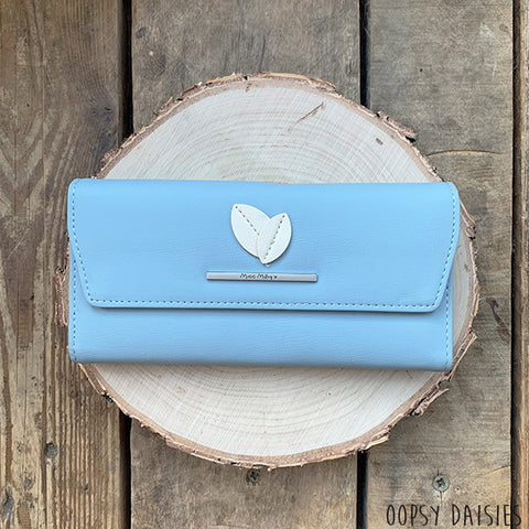 Miss Milly Purse - Blue Leaf 10880