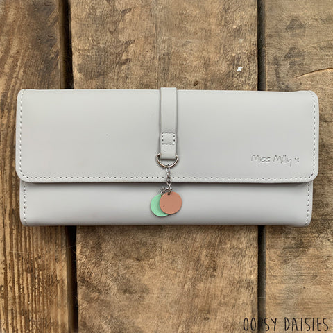 Miss Milly Purse - Grey Dangle 10882
