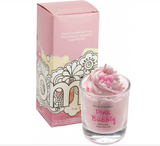 Candle Piped - Pink Bubbly 5660