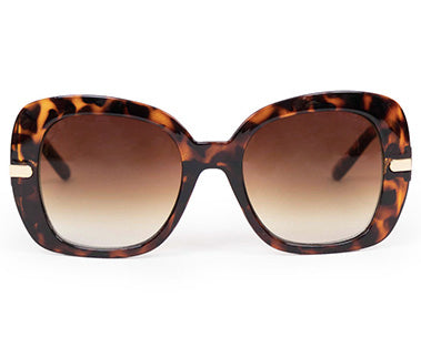 Powder Sunglasses - Roxanne in Tortoiseshell 7368