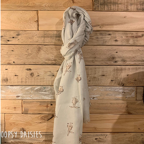Scarf - Leaping Hare 10977