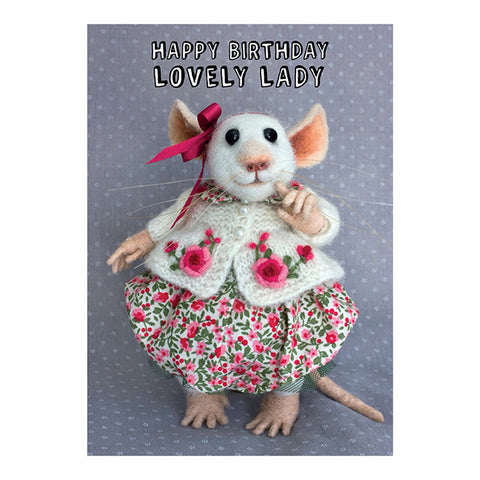 Card - Happy Birthday Lovely Lady 11295