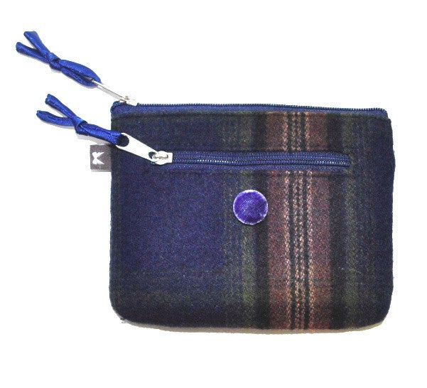 Tweed Emily Purse Navy 5338