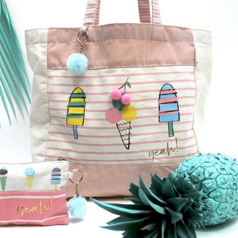 Disaster Sherbet Tote Bag - Ice Cream 11310