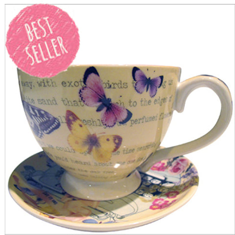 Disaster Type Write Tea Cup 5762
