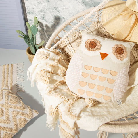 Owl Cushion - Maya 10383