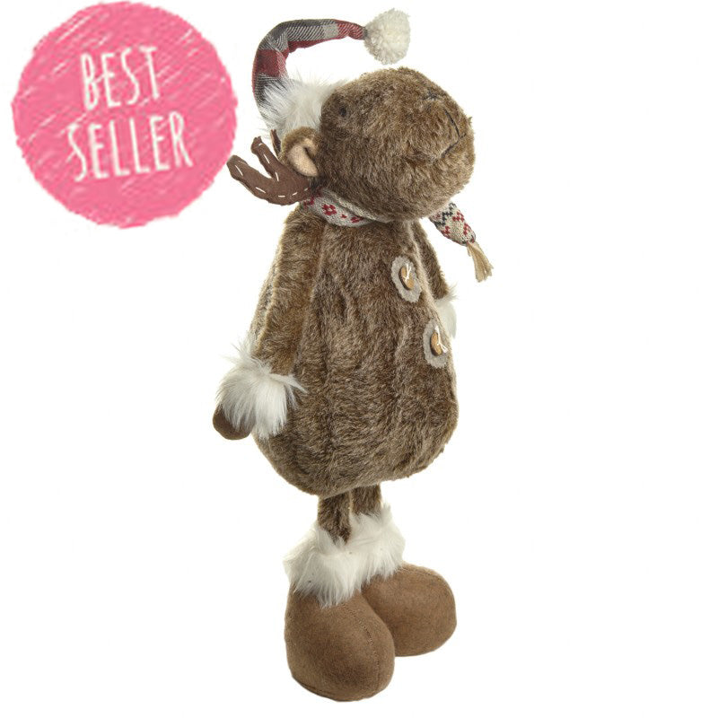 Fabric Standing Moose 4297