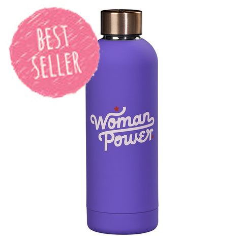 Yes Studio - Water Bottle / Flask - Woman Power 7829