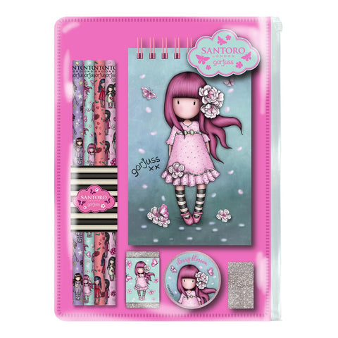 Gorjuss Cherry Blossom Stationery Set 10165