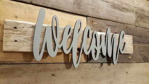Name Sign - Welcome 8532