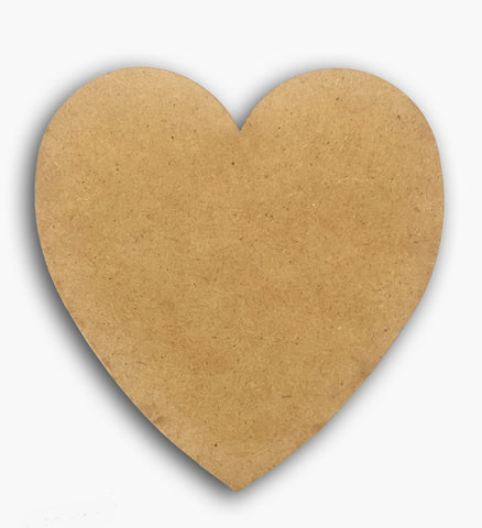 Classic Heart wooden Blank 8575