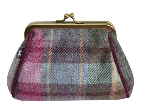 Earth Squared Tweed Lara Purse - Heather 8378