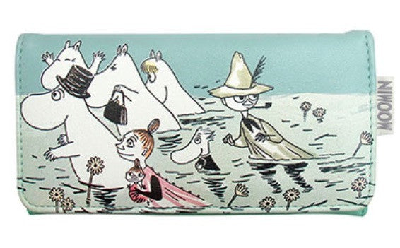 Disaster Moomin River Wallet 4756