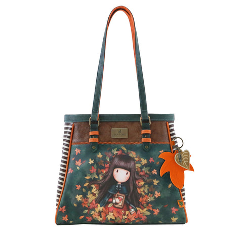 Gorjuss Autumn Leaves - Handbag 9658
