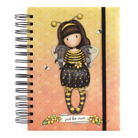 Gorjuss Organisational Notebook - Bee-Loved 8484