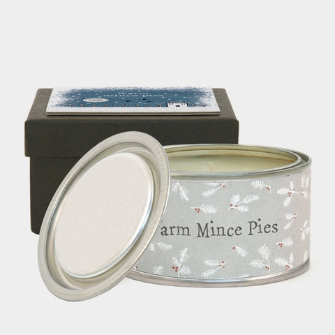 Boxed Christmas Candle - Mince Pies 9307