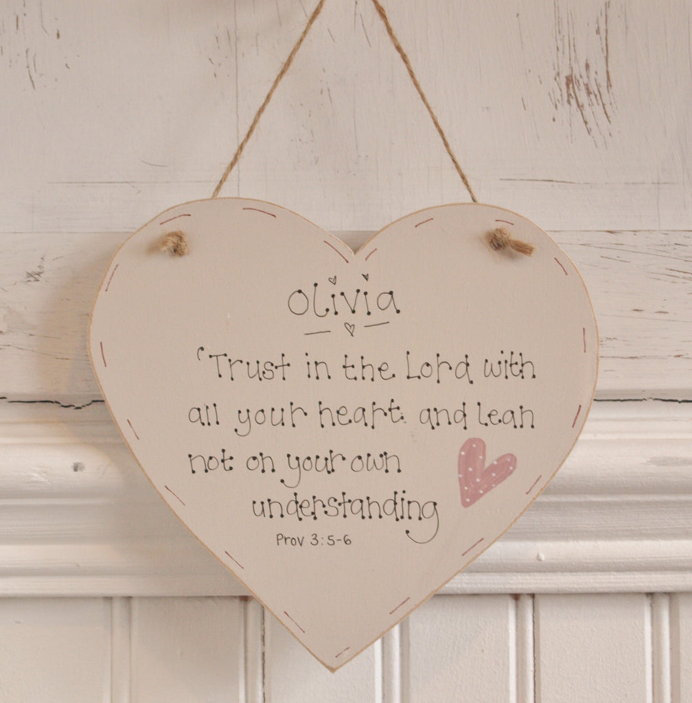 "6"" Heart - Trust in The Lord 7753"