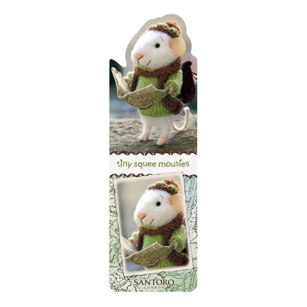 Tiny Squee Mousies Bookmark - Little Adventure 9522