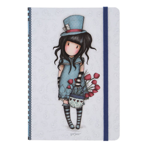 Gorjuss Hardcover Notebook - The Hatter 8463