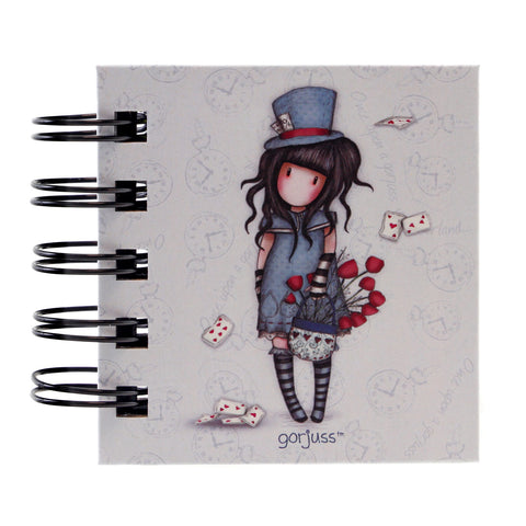 Gorjuss Sticky Notes Book - The Hatter 7513