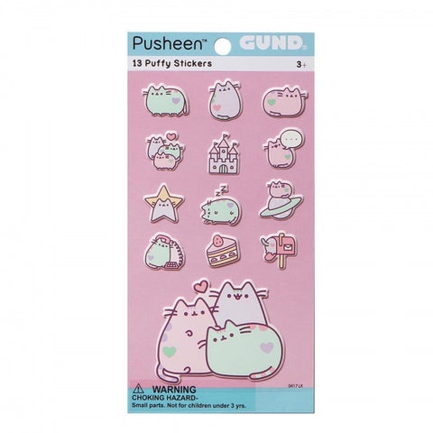 Pusheen Stickers Pastel 7114
