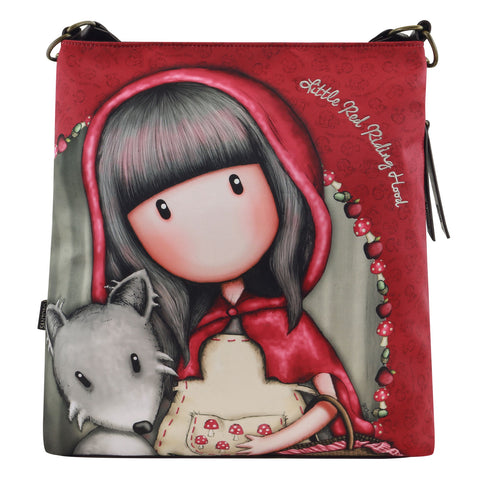 Gorjuss Large Hobo Bag - Little Red Riding Hood 9500