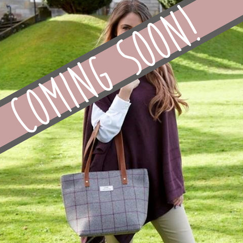 Earth Squared Heritage Tweed Tote Bag in Grey 9384