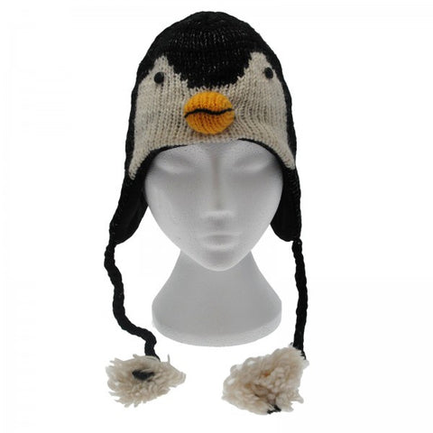Woolen Animal Hat - Penguine 8262