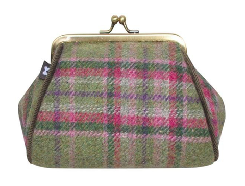 Earth Squared Tweed Lara Purse - Moorland 8380