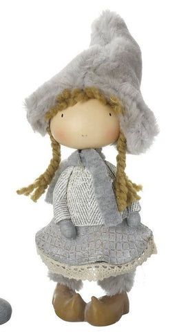 Girl Christmas Standing Decoration 1802