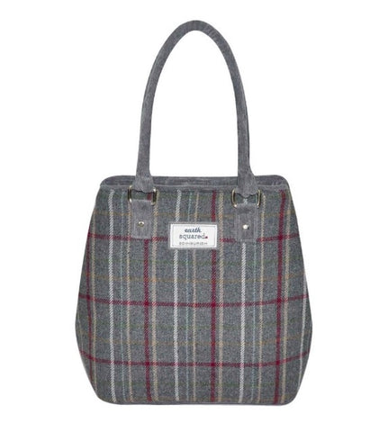 Earth Squared Tweed Sophie Bag - Grey 6406